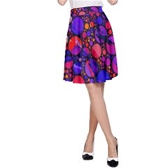 Lovely Allover Hot Shapes A-Line Skirts