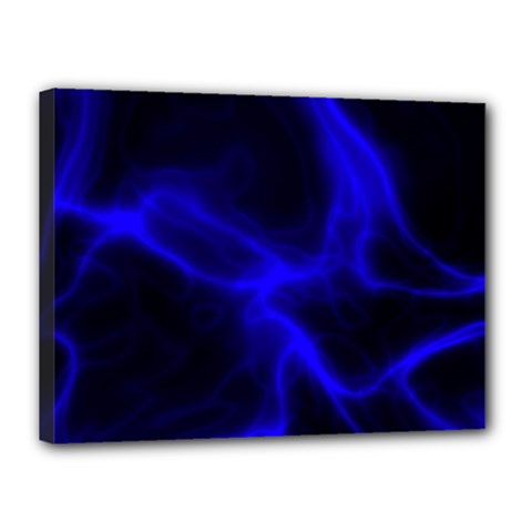 Cosmic Energy Blue Canvas 16  x 12