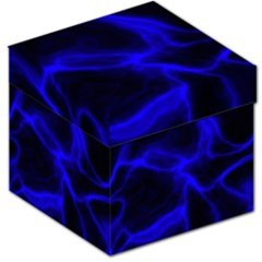 Cosmic Energy Blue Storage Stool 12