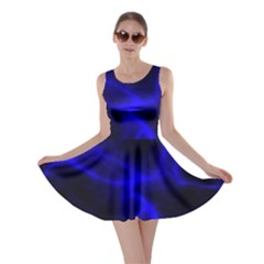 Cosmic Energy Blue Skater Dresses