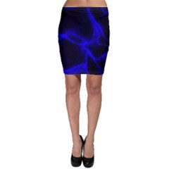 Cosmic Energy Blue Bodycon Skirts