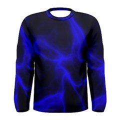 Cosmic Energy Blue Men s Long Sleeve T-shirts