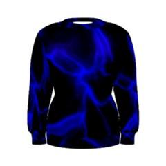 Cosmic Energy Blue Women s Sweatshirts