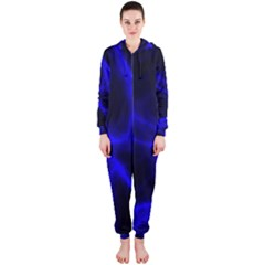 Cosmic Energy Blue Hooded Jumpsuit (Ladies)