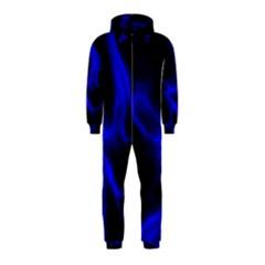 Cosmic Energy Blue Hooded Jumpsuit (Kids)