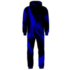 Cosmic Energy Blue Hooded Jumpsuit (Men)