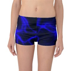 Cosmic Energy Blue Reversible Boyleg Bikini Bottoms