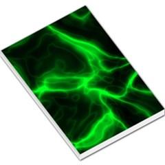 Cosmic Energy Green Large Memo Pads