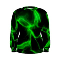 Cosmic Energy Green Women s Sweatshirts