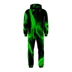 Cosmic Energy Green Hooded Jumpsuit (Kids)