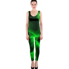 Cosmic Energy Green OnePiece Catsuits