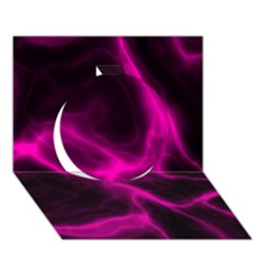 Cosmic Energy Pink Circle 3D Greeting Card (7x5)