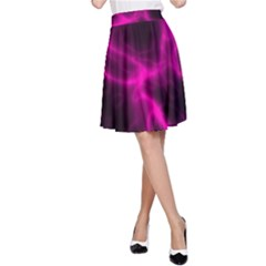 Cosmic Energy Pink A-Line Skirts