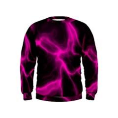 Cosmic Energy Pink Boys  Sweatshirts