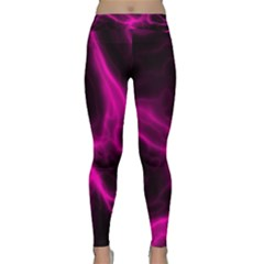 Cosmic Energy Pink Yoga Leggings