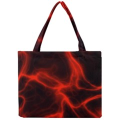 Cosmic Energy Red Tiny Tote Bags