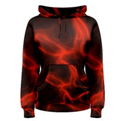 Cosmic Energy Red Women s Pullover Hoodies
