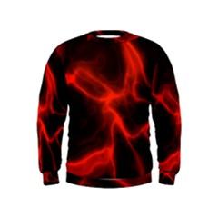 Cosmic Energy Red Boys  Sweatshirts