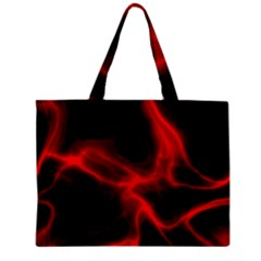 Cosmic Energy Red Zipper Tiny Tote Bags