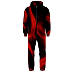 Cosmic Energy Red Hooded Jumpsuit (Men)