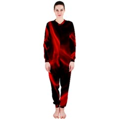 Cosmic Energy Red Onepiece Jumpsuit (ladies)