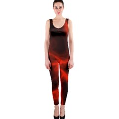 Cosmic Energy Red OnePiece Catsuits