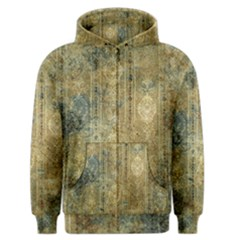 Beautiful  Decorative Vintage Design Men s Zipper Hoodies