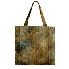 Beautiful  Decorative Vintage Design Zipper Grocery Tote Bags