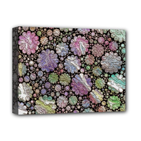 Sweet Allover 3d Flowers Deluxe Canvas 16  x 12