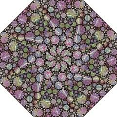 Sweet Allover 3d Flowers Golf Umbrellas