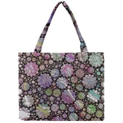 Sweet Allover 3d Flowers Tiny Tote Bags