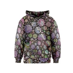 Sweet Allover 3d Flowers Kid s Pullover Hoodies