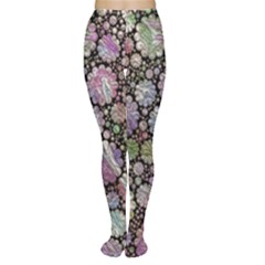 Sweet Allover 3d Flowers Women s Tights