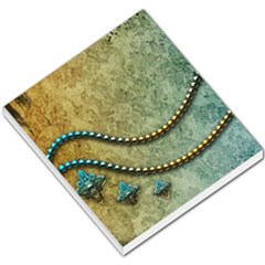 Elegant Vintage With Pearl Necklace Small Memo Pads