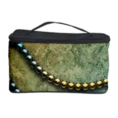 Elegant Vintage With Pearl Necklace Cosmetic Storage Cases