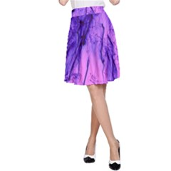 Special Fireworks Pink,blue A-Line Skirts