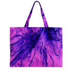 Special Fireworks Pink,blue Zipper Tiny Tote Bags