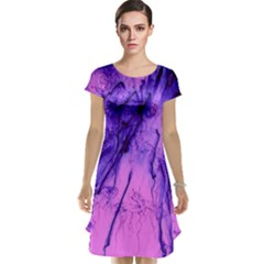 Special Fireworks Pink,blue Cap Sleeve Nightdresses