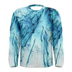 Special Fireworks, Aqua Men s Long Sleeve T Shirts