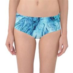 Special Fireworks, Aqua Mid-Waist Bikini Bottoms