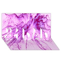 Special Fireworks, Pink #1 DAD 3D Greeting Card (8x4)