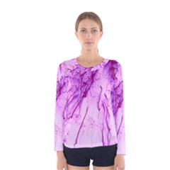 Special Fireworks, Pink Women s Long Sleeve T Shirts