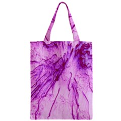 Special Fireworks, Pink Zipper Classic Tote Bags