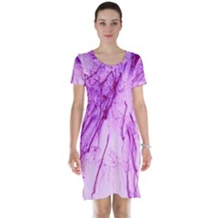 Special Fireworks, Pink Short Sleeve Nightdresses