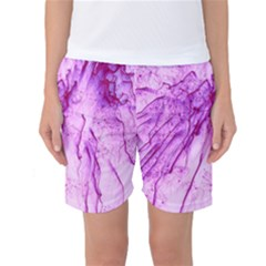 Special Fireworks, Pink Women s Basketball Shorts