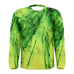 Special Fireworks, Green Men s Long Sleeve T Shirts