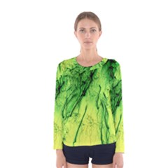 Special Fireworks, Green Women s Long Sleeve T-shirts