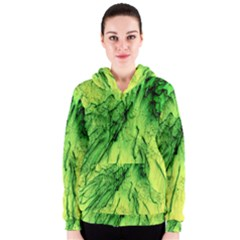 Special Fireworks, Green Women s Zipper Hoodies
