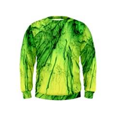 Special Fireworks, Green Boys  Sweatshirts