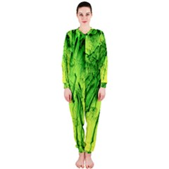 Special Fireworks, Green OnePiece Jumpsuit (Ladies)
